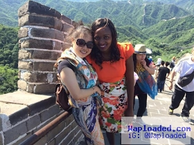Kenyan girl who photoshopped herself into photos of tourist attraction sites in China goes on a real tour